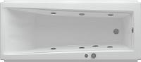 Ванна акриловая Aquatek Либра 150x70 L (с гидромассажем и экраном) -