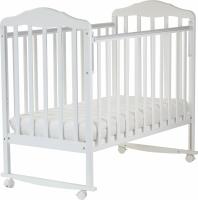 Детская кроватка СКВ Березка / 120111 (белый) -