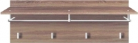Вешалка для одежды Black Red White Homeline S122-PAN/4/8 (дуб сонома темный) -