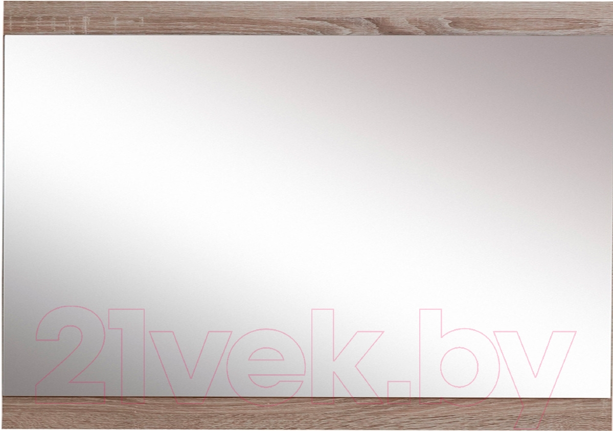 Купить Зеркало интерьерное Black Red White, Homeline S122-LUS/8/10 (дуб сонома темный), Беларусь, дерево средних тонов