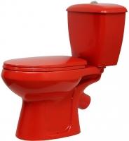 Унитаз напольный Оскольская керамика Элисса (красный) -