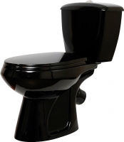 Унитаз напольный Оскольская керамика Элисса (черный) -
