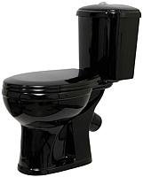 Унитаз напольный Оскольская керамика Дора (черный) -