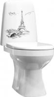 Унитаз напольный Оскольская керамика Эльдорадо Люкс + декор Париж -