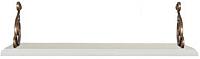Полка Black Red White Kentaki S320-POL/155 II (белый/белый) -