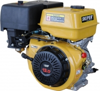 Двигатель бензиновый Skiper 188 FE электростартер (шпонка) -