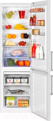 Холодильник с морозильником Beko RCNK356E21W