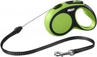 Поводок-рулетка Flexi New Comfort M 5m (трос зеленый) -