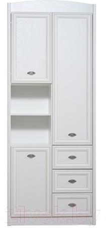 Купить Шкаф Black Red White, Salerno B18-REG3D3S (белый), Беларусь