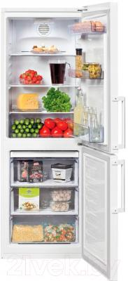 Холодильник с морозильником Beko RCNK296E21W