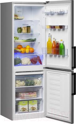 Холодильник с морозильником Beko RCNK321E21X