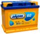 Автомобильный аккумулятор AKOM 6СТ-60 Евро / 560000009 (60 А/ч) -