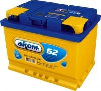 Автомобильный аккумулятор AKOM 6СТ-62 Евро / 562000009 (62 А/ч) -