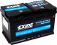 Автомобильный аккумулятор Exide Hybrid AGM EK800 (80 А/ч) -