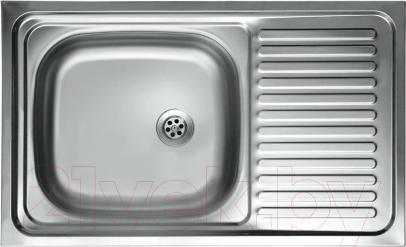 Купить Мойка кухонная КромРус, S 416 RUS, Россия, нержавеющая сталь