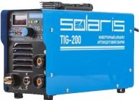 Сварочный аппарат Solaris TIG-200 + AK (TIG-MMA) -