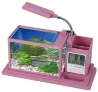 Аквариумный набор Aquael Desk Mini / 222901 (розовый) -
