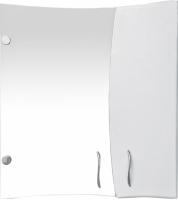 Шкаф с зеркалом для ванной Кветка Мадейра 600 (левый) -