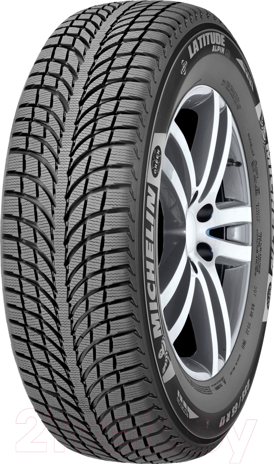 Купить Зимняя шина Michelin, Latitude Alpin LA2 255/65R17 114H, Франция