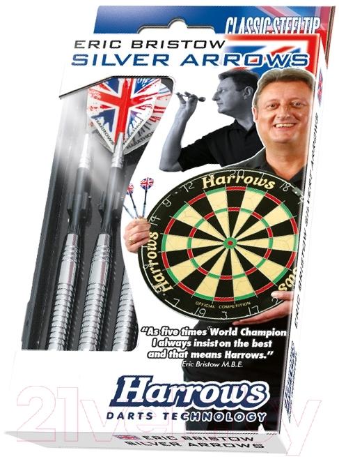 Купить Дротики для дартса Harrows, Silver Arrows 3x24gK / 5208, Великобритания