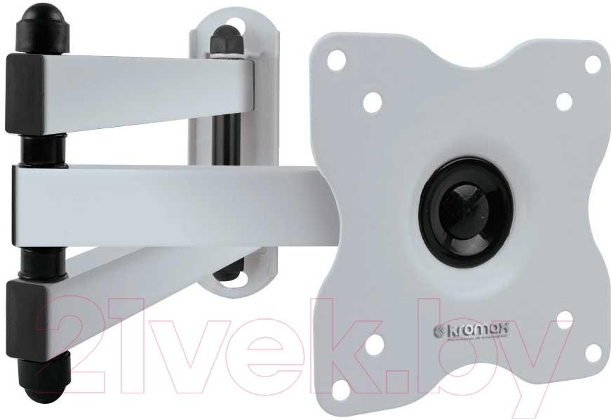 Купить Кронштейн для телевизора Kromax, Dix-15 (белый), Китай, сталь
