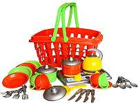 Набор игрушечной посуды ТехноК Кухня Галинка 10 / 1172 -