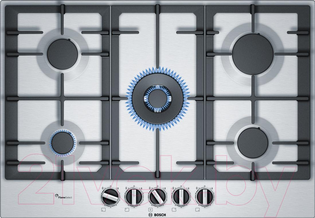 Купить Газовая варочная панель Bosch, PCQ7A5B90, Испания