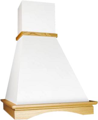 Вытяжка купольная Elikor Вилла 60 (бежевый/дуб) - общий вид