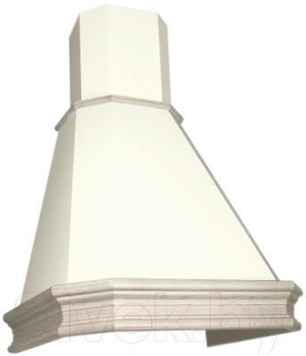 Вытяжка купольная Elikor Пергола 60П-650-П3Л (бежевый/дуб неокрашенный)