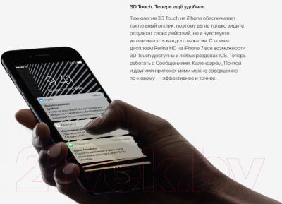 Смартфон Apple iPhone 7 128GB / MN922 (черный) -
