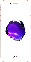Смартфон Apple iPhone 7 128GB / MN952 (розовое золото) -