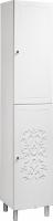 Шкаф-пенал для ванной Bliss Нежность 2Д / 0464.3 -