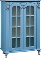Тумба для ванной Bliss Версаль 2Д / 0454.3 (голубой) -