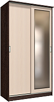 Шкаф Интерлиния Неаполь АН-011-12-01 (дуб венге/дуб молочный) -
