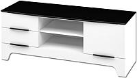 Тумба Мебель-Неман Верона МН-128-06 (белый глянец) -