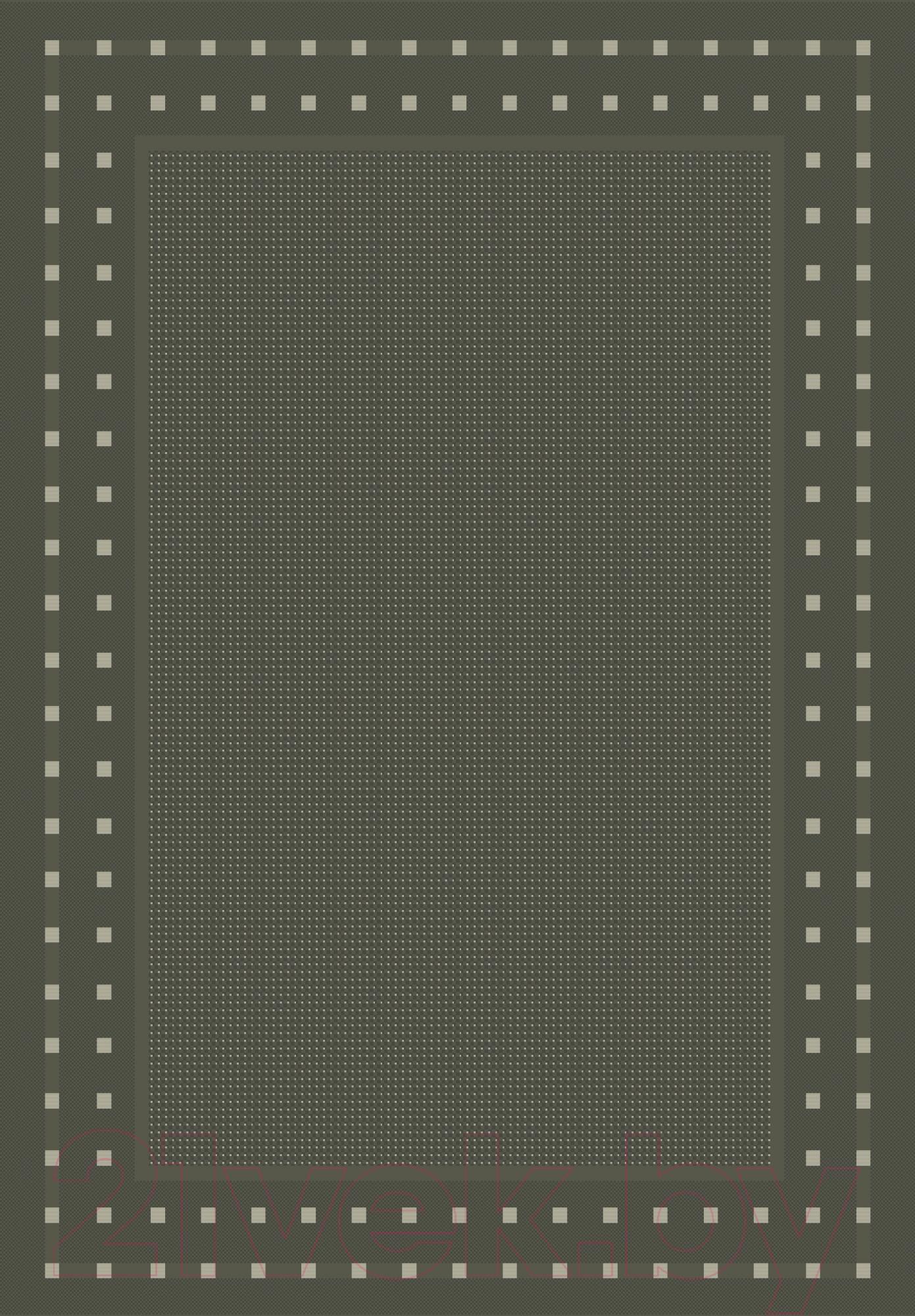 Купить Циновка Balta, Fondo 3081/092 (80x200, серый), Бельгия