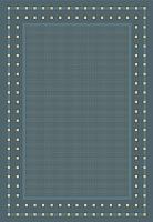 Циновка Balta Fondo 4840/033 (60x110, синий) -