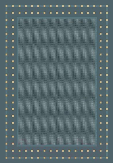 Купить Циновка Balta, Fondo 4840/033 (80x200, синий), Бельгия