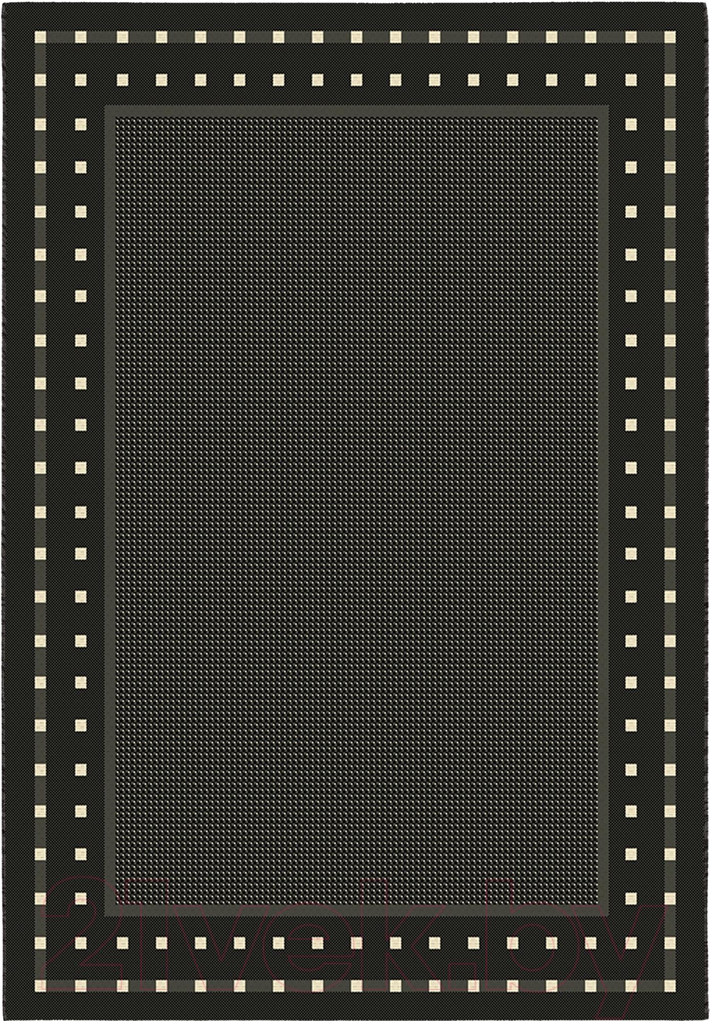 Купить Циновка Balta, Fondo 4840/090 (160x230, черный/белый), Бельгия