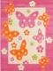 Ковер Lalee Amigo 307 (100x150, бабочки) -