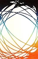 Ковер Lalee California 101 (120x170, белый-оранжевый) -