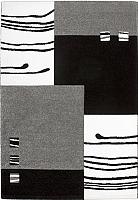 Ковер Lalee California 103 (160x230, черный-серебряный) -
