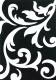 Ковер Lalee Lambada 451 (80x300, черный-белый) -