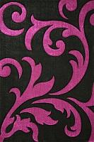 Ковер Lalee Lambada 451 (80x300, черный-лиловый) -