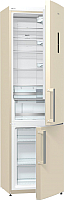 Холодильник с морозильником Gorenje NRK6201MC-0 -