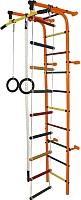 Детский спортивный комплекс Формула здоровья Забияка-1А Плюс (оранжевый/радуга) -