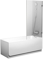 Стеклянная шторка для ванны Ravak BVS1 (7U840A00Z1) -
