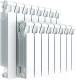 Радиатор биметаллический Rifar Monolit 500 (10 секций) -