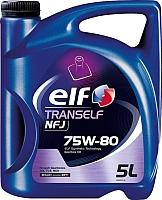 Трансмиссионное масло Elf Tranself NFJ 75W80 / 194756 (5л) -