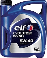 Моторное масло Elf Evolution 900 NF 5W40 / 194872 (5л) -